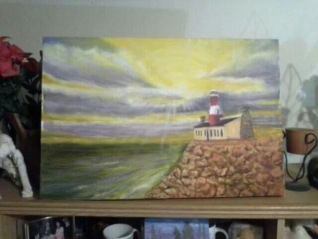 Lighthouse no 2 by Johannes Swanepoel.  Copyright (c) 2013 VDMFK