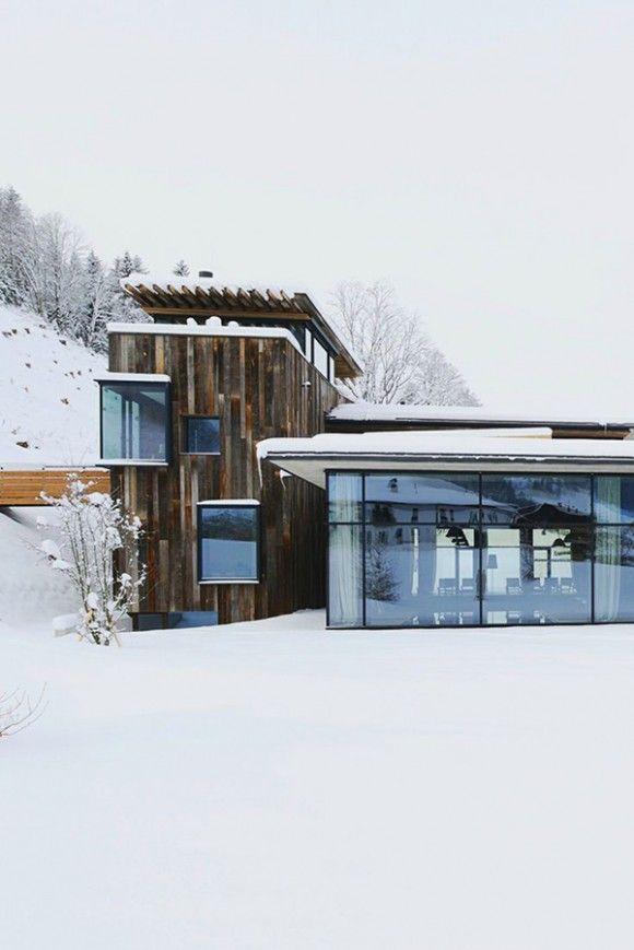 Die besten 17 bilder zu alpine style interiors auf for Design hotel skifahren