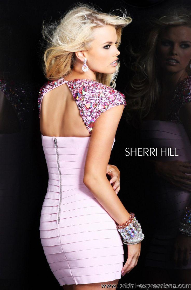 Sherri Hill's 2014 Prom Dress   Sherri Hill 2934 Short Bandage Prom Cocktail Dress