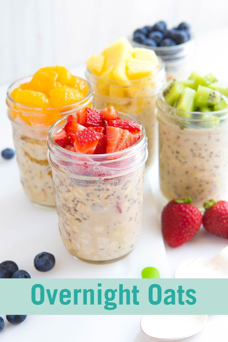 With delicious flavors like strawberry shortcake, orange roll, and pineapple upside down cake, you'll love these recipes for Overnight Oats. And what's cuter than breakfast in a jar?