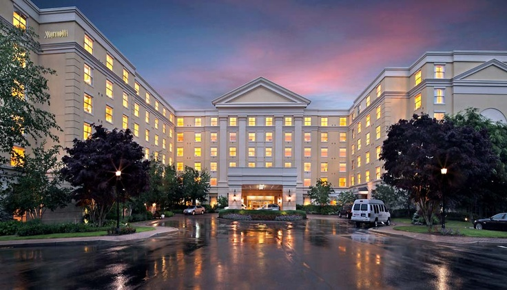 Mystic Marriott Hotel and Spa Groton, CT. Stayed here this summer, very nice, convenient to Mystic Seaport & to Mohegan Sun