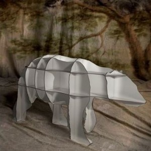 A bookshelf in the shape of your favorite animal? Brilliant!