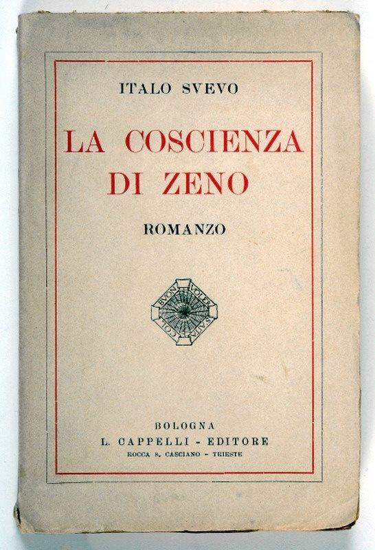 ITALO SVEVO, La coscienza di Zeno, 1923