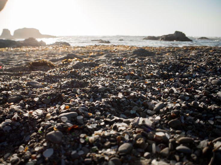 Glass Beach, la plage de verre - CALIFORNIE