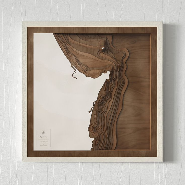 The limited edition dark wood map by Pangea Maps – our newest collab with 10% of sales going towards our projects in Byron Bay!