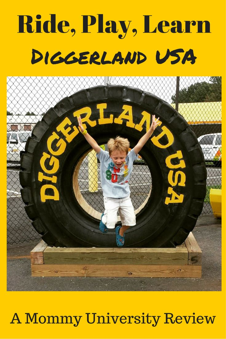 What can children do at Diggerland this season? Ride, Play, Learn at Diggerland USA Mommy University explores the developmental and educational benefits of this unique amusement park in NJ at www.MommyUniversityNJ.com