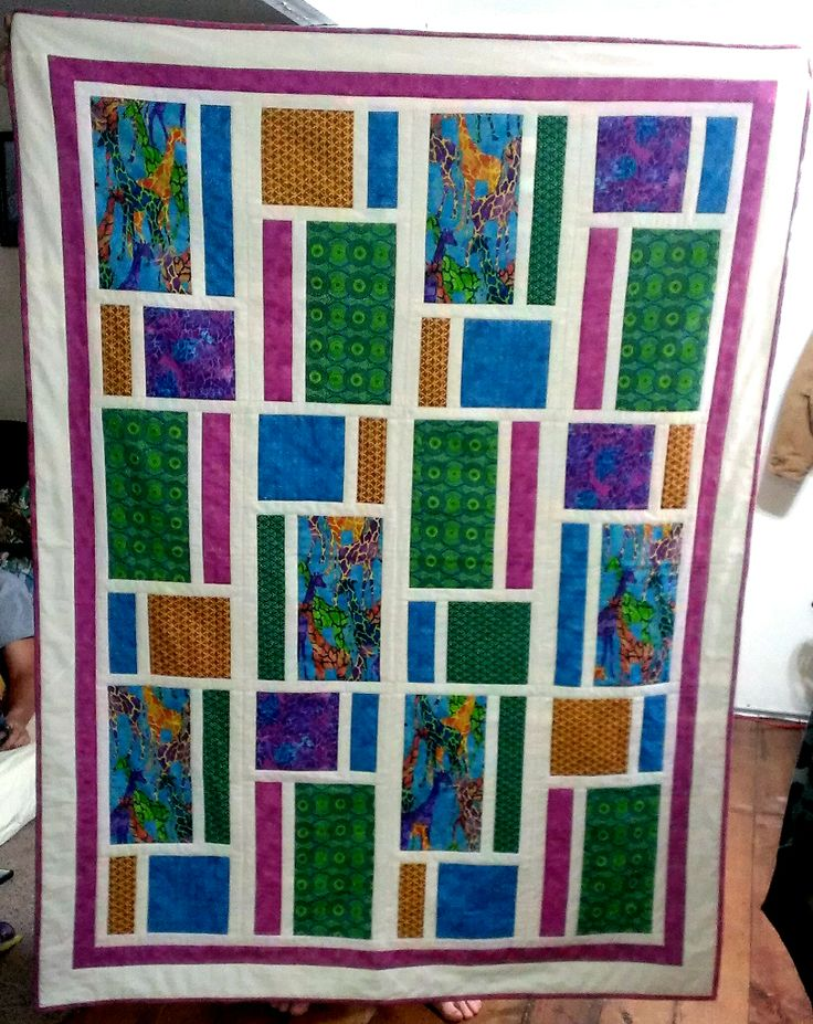Alayna's quilt - Front