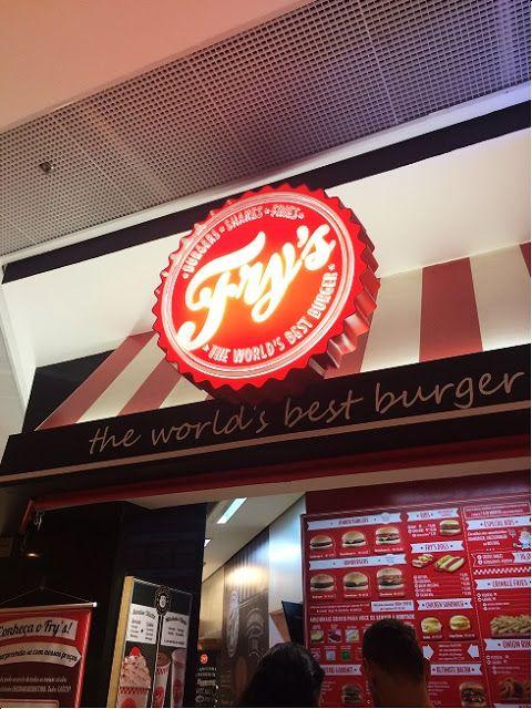 Garfo Publicitário | Blog de Gastronomia e Culinária: Fry's - The World's Best Burger | Av. Ibirapuera, ...
