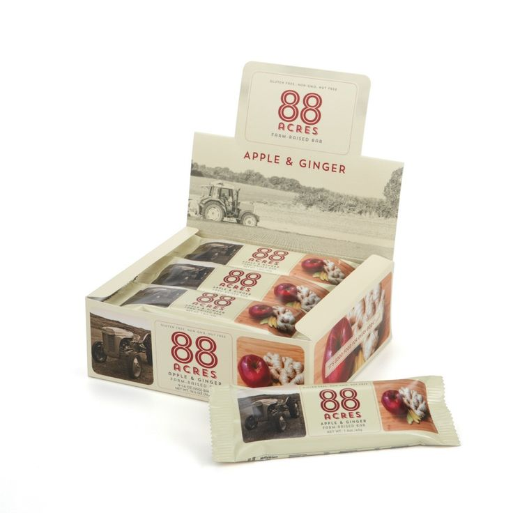 Apple & Ginger - Box of 9 Bars