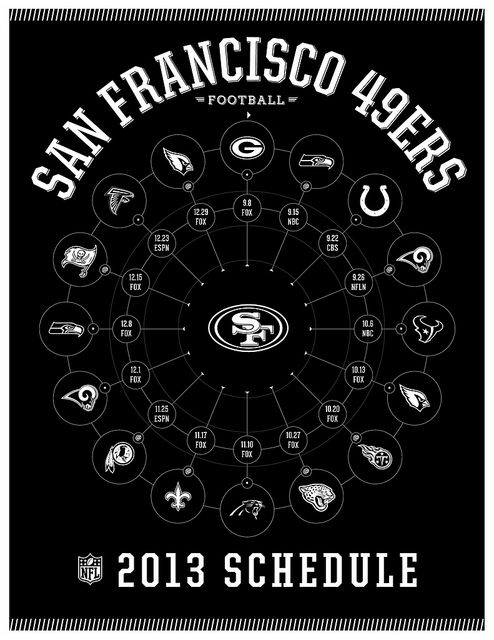 San Francisco 49ers 2013 Schedule