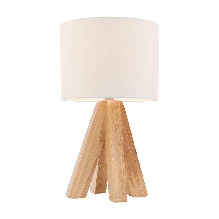 White Darcy Table Lamp - Life Interiors - Life Interiors