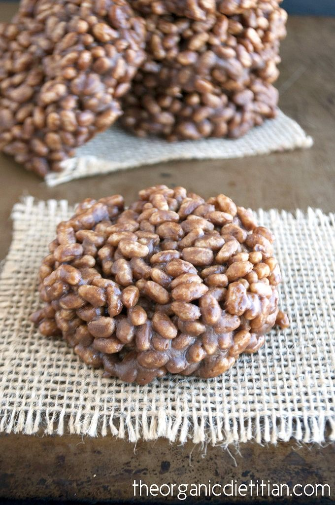 A cleaned up version of a childhood favorite made with only 6 real food ingredients. Crunchy, soft, and chocolaty just like it should be but healthier.