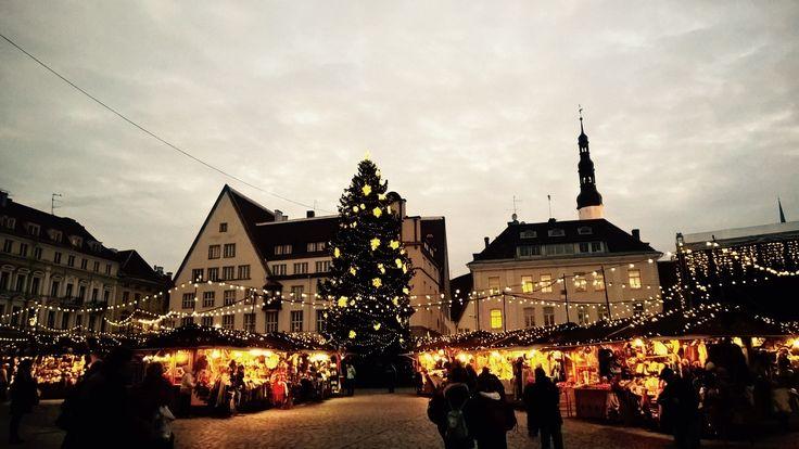 Christmas market in Tallinn