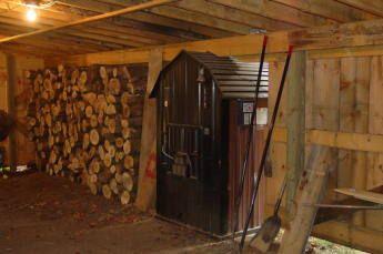 Farmhouse Pole Barn Garage