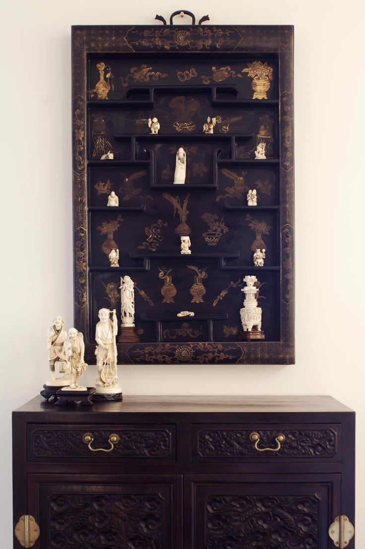 Netsuke display. Brooke Aitken Design