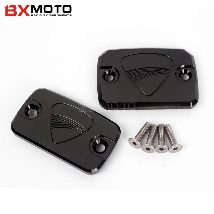Motorcycle Brake lever Cover CNC Front Brake Fluid Reservoir Cover Cap For DUCATI Monster 695 696 796 MonsterHypermotard 796 #Affiliate