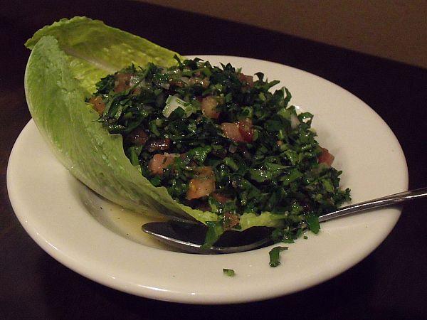 tabooleh salad Cafe Matinee Lebanese Cuisine - Lake Forest, California