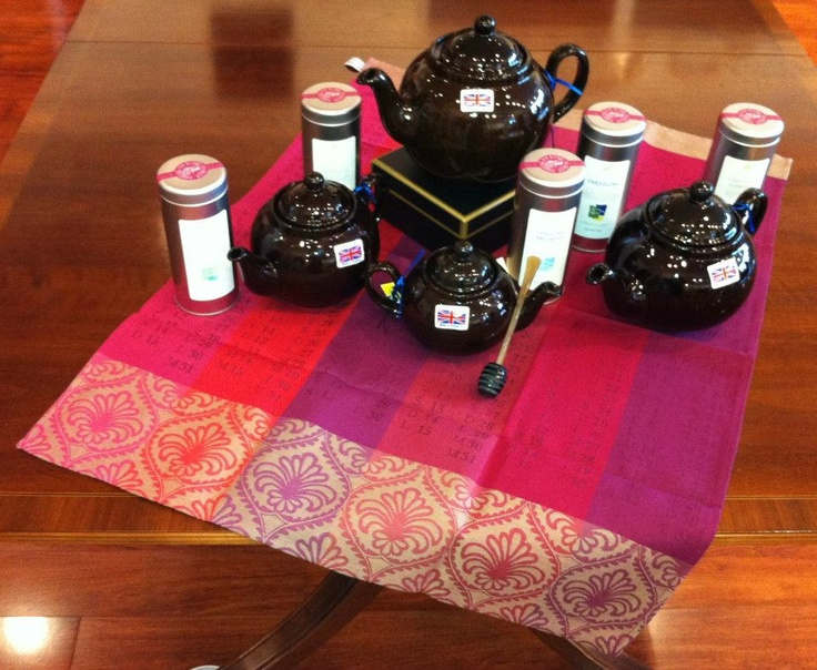 Brown Betty teapots and teas