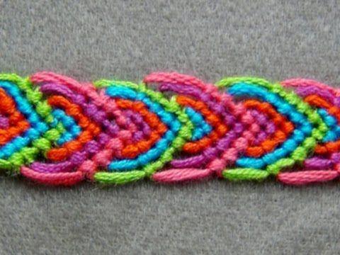 Wonderful DIY Leaves Friendship Bracelet                                                                                                                                                      More