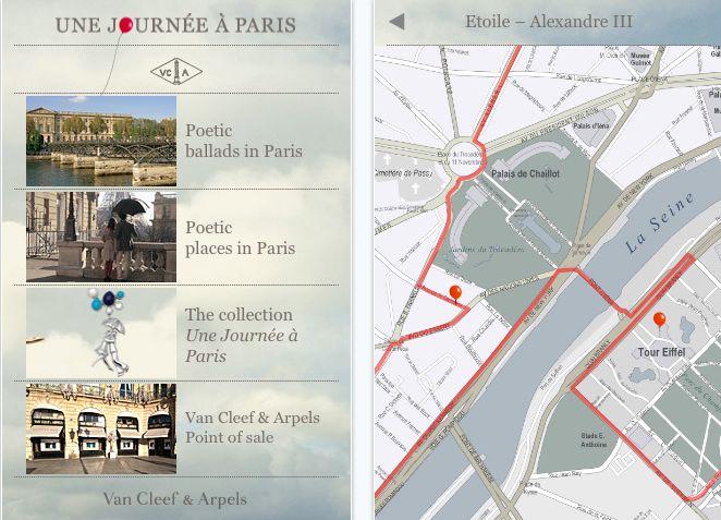 High #fashion & high #technologies #Van Cleef & Arpels a day in Paris #application