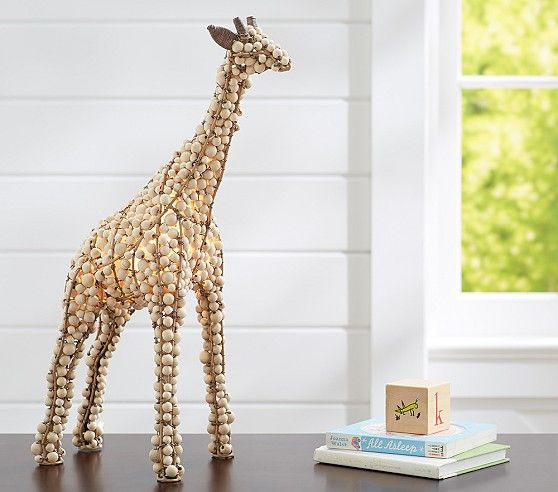 Beaded Giraffe Lamp Pottery Barn Kids Sweet Boy Rooms