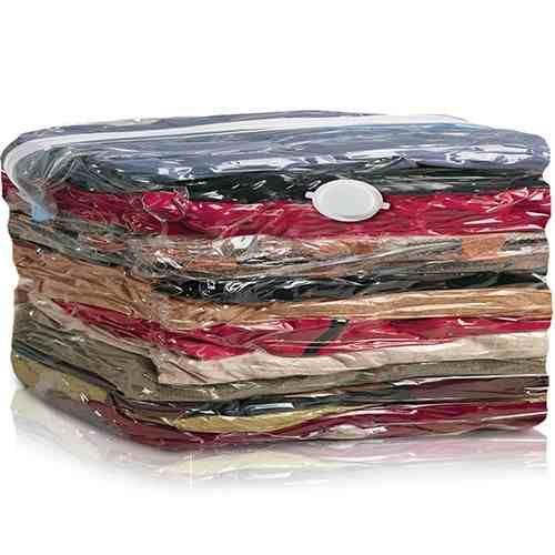 saco à vácuo protetor organizador - roupa cobertor - 60 x 80