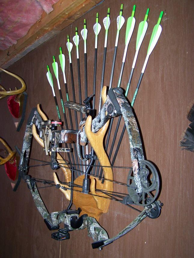 homemade bow holder - Sök på Google