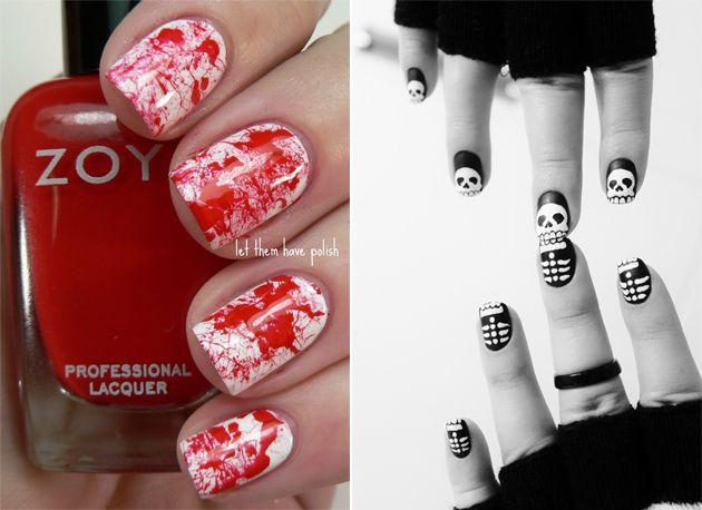 nail-art-halloween-idee.jpg (630×458)