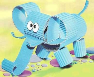 elephant arts and crafts for kids