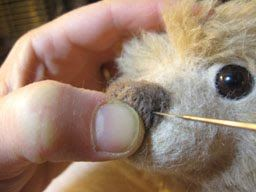 Needle Felted Face Tutorial