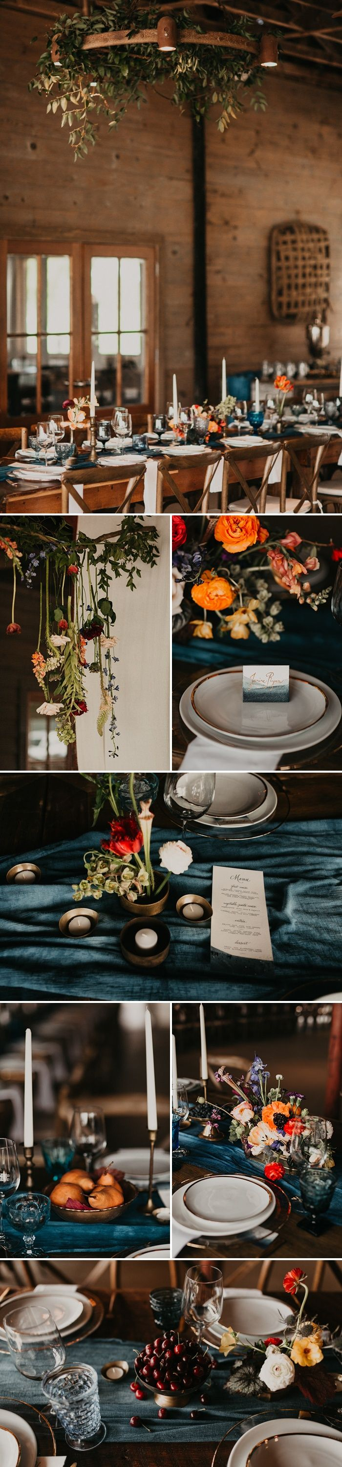 Lots of beautiful botanical touches | Image by Cody & Allison Photography