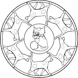 malvorlage katzen mandala   malvorlage katze, ausmalbilder