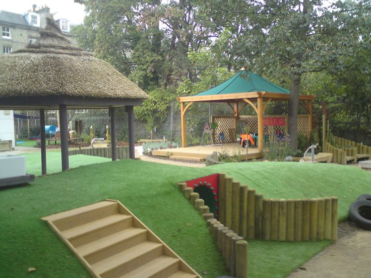 Outdoor Classroom Design Ideas ~ Educational landscapes school grounds design