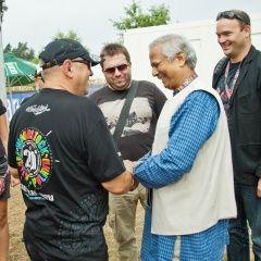Laureat pokojowej Nagrody Nobla, Muhammad Yunus o swoich zawodowych dokonaniach.