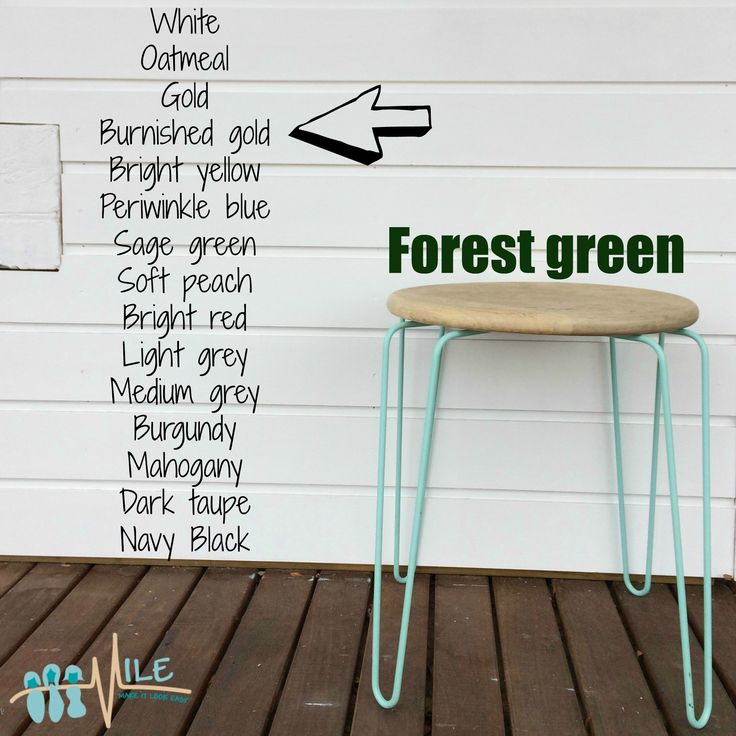 Forest green goes with...