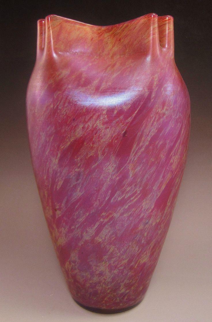 103 best glass loetz images on pinterest art nouveau glass unique geometric top welz purple iridescent dcor art glass vase produced by franz reviewsmspy
