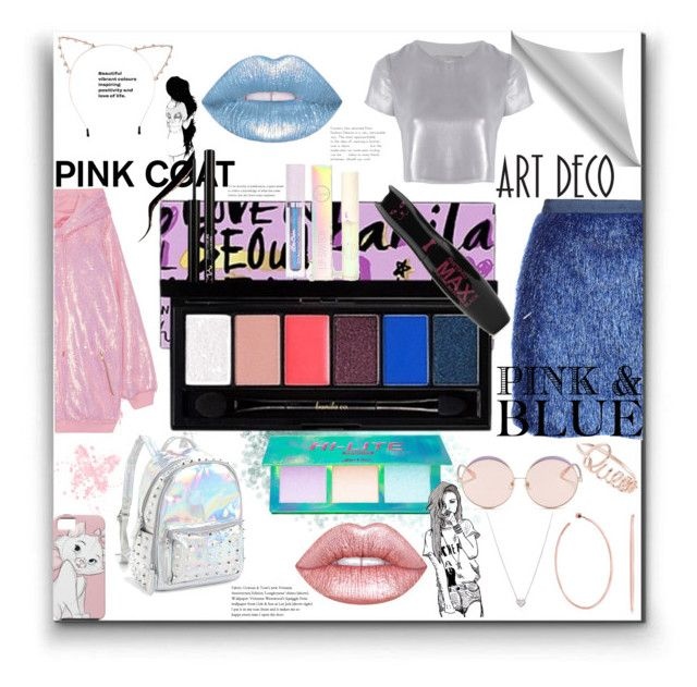 """""""Love in Seoul - Palette [Contest]"""" by trickpink ❤ liked on Polyvore featuring Vielma London, Ashish, Bari Lynn, Cara, N°21, Related, Tiffany & Co., Steve Madden, Forever 21 and Lime Crime"""