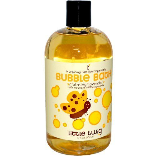 Little Twig Bubble Bath Lavender 17 Oz by Little Twig. $13.00. 17 Ounces Liquid. Serving Size:. Bubble baby's troubles away! Our all-natural blend of calming lavender-chamomile essence and gentle bath foam turns your tub into a sanctuary of quiet bonding and relaxation. Contains Vitamin E, shea butter and aloe vera to soothe sensitive skin. Made with Organic Ingredients Pediatrician Tested No Tears