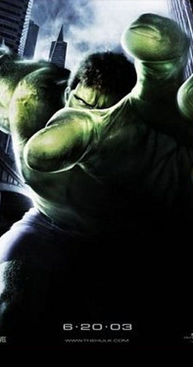 Directed by Ang Lee.  With Eric Bana, Jennifer Connelly, Sam Elliott, Josh Lucas. Bruce Banner, a genetics researcher with a tragic past, suffers an accident that causes him to transform into a raging green monster when he gets angry.