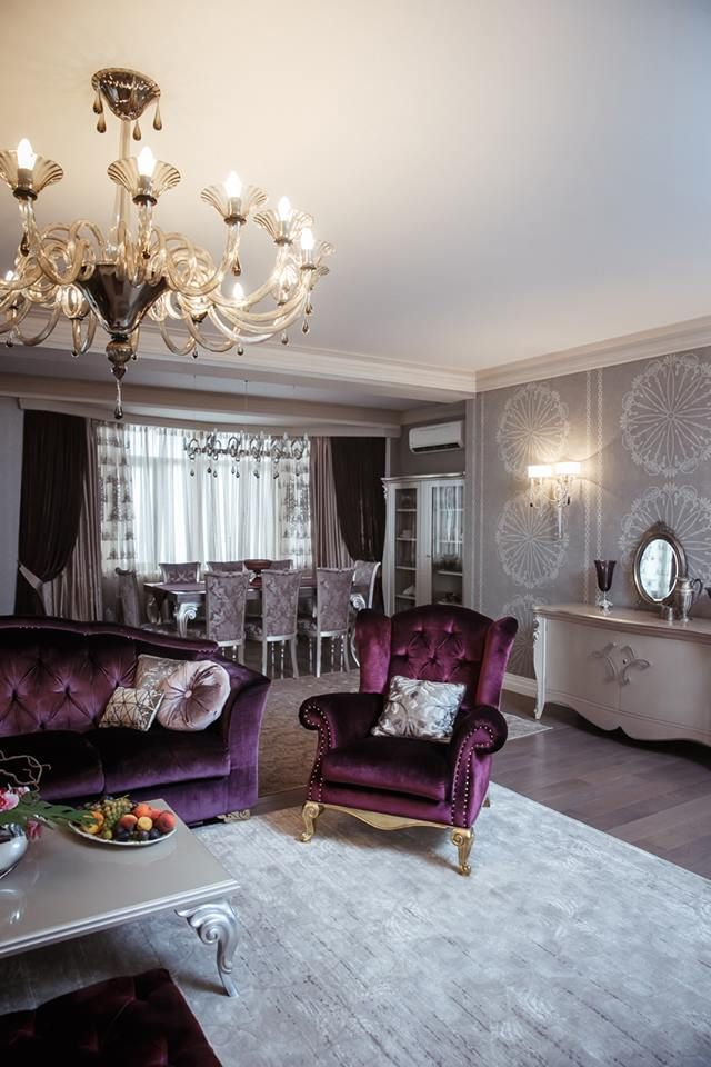 Вот такая красота получается, когда в интерьере используются обои KT-Exclusive. Спешите к нам в салон Palazzo на Поленова, 15. Подробности вы можете узнать по телефонам 8395- 28- 58- 00, 609 - 219 Также коллекции этого бренда можете посмотреть на нашем сайте palazzo38.ru  Wallcoverings / Обои KT Exclusive CARL ROBINSON; photo © pavilionmag, Daniela Villa Design.