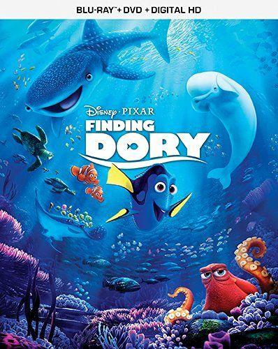 Finding Dory Disney Blu Ray DVD Dc Pg