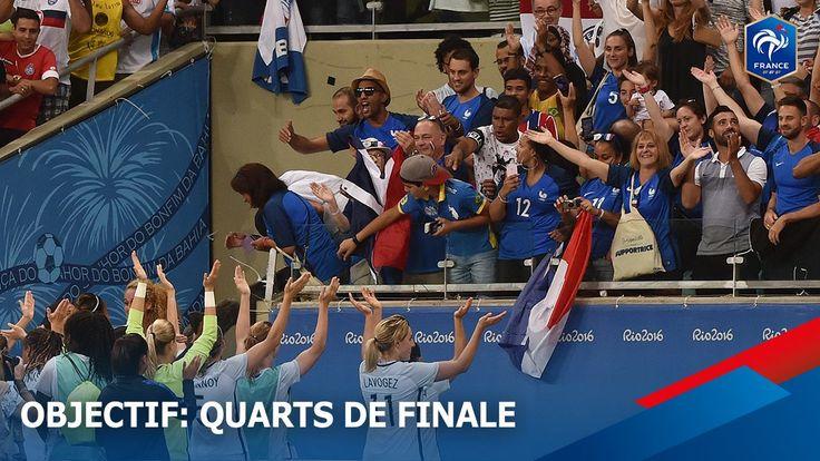 Revivez le match France Nouvelle-Zélande depuis le bord du terrain ⚽ Elise Bussaglia en profite pour partager sa motivation: L'aventure continue!  #AllezLesBleues