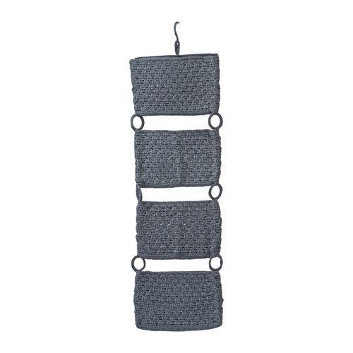 NORDRANA Hängeaufbewahrung IKEA Zum Anhängen an Türoberkanten; nutzt die Türfläche zum Aufbewahren.