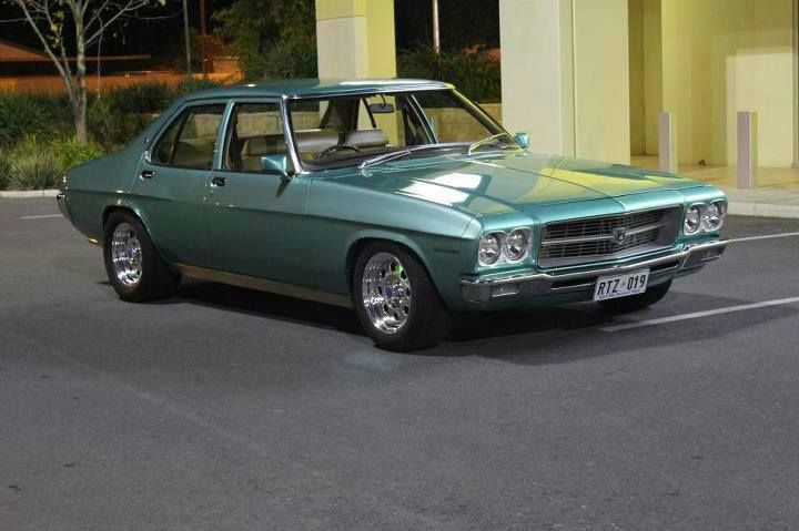 Old Holden.  Colour number: 1835, 567-13130, Taormina Aqua Metallic.