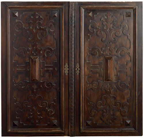 18th century Spanish double door cabinet- Portera Doors - 82 Best Antique Doors Images On Pinterest Architecture, Doors
