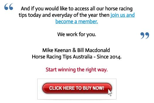 Monday's September 12th Horse Racing Information:  This Mondays FREE horse racing tips are now posted at   http://www.freehorseracingtipsaustralia.com/mondays-horse-racing-tips  and here's hoping for a really great start to another week of racing so great luck if you are having a bet this Monday and I will have some more sports news from the site for you later.  Thanks and good luck.  Mike Keenan.