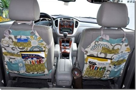 Organizing pieces to make for your car @Elizabeth Jolliff