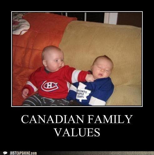 Canadian Humor: Hockey Rivalry