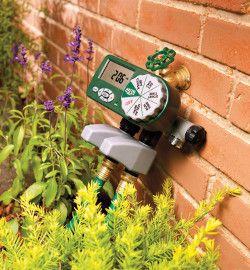 Le programmateur d'arrosage, un allié du jardinage