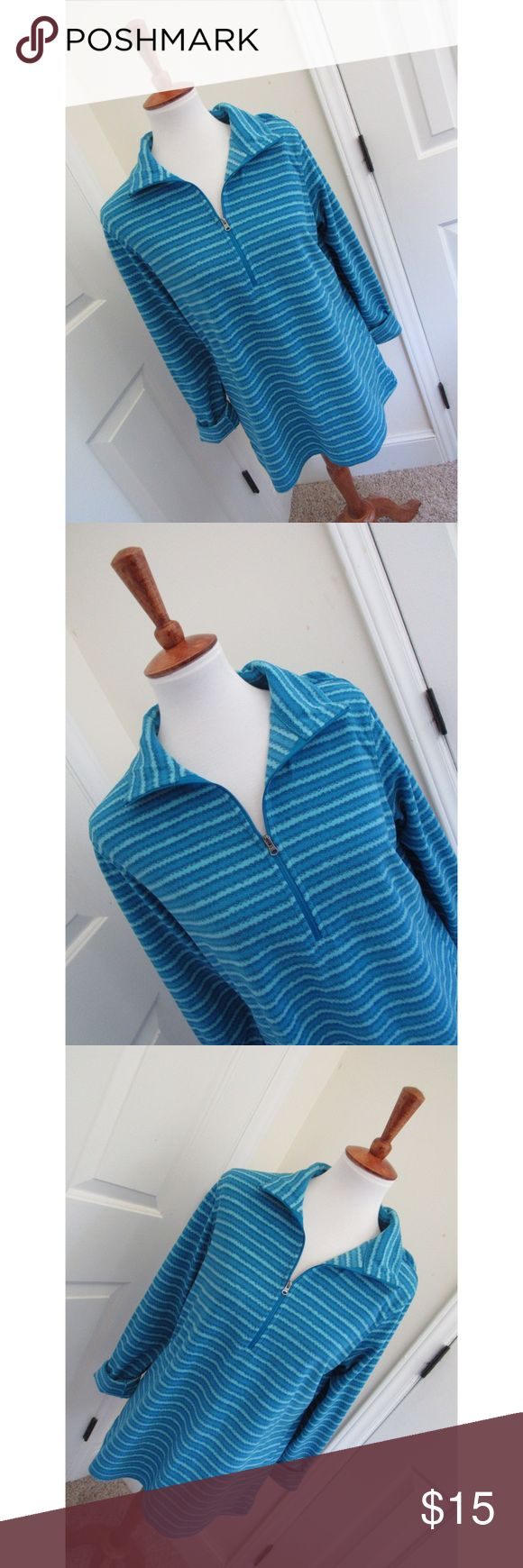 Columbia blue fleece sweater - Size L  - I don't trade or sell outside of posh. - I ship every single day!  - All items come from a smoke free home!  - If you have anymore questions just let me know and I would be happy to help! 🙂 Columbia Jackets & Coats